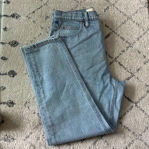 GAP hi-rise straight jeans